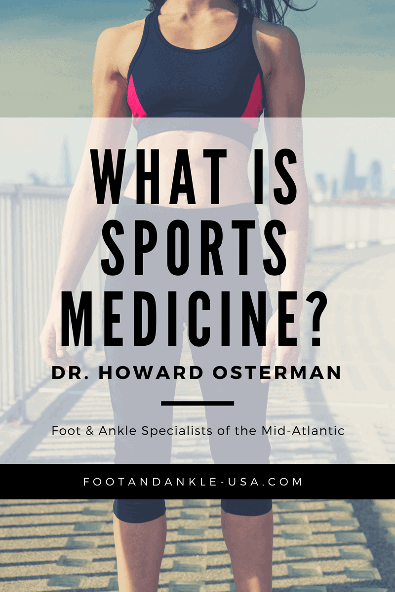 Sports Medicine Therapy Doctors Foot and Ankle Specialists of the Mid-Atlantic